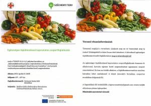 Egészséges táplálkozással kapcsolatos csoportfoglalkozás 2014. április 14.