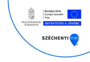 ESZA infoblokk és EU logó
